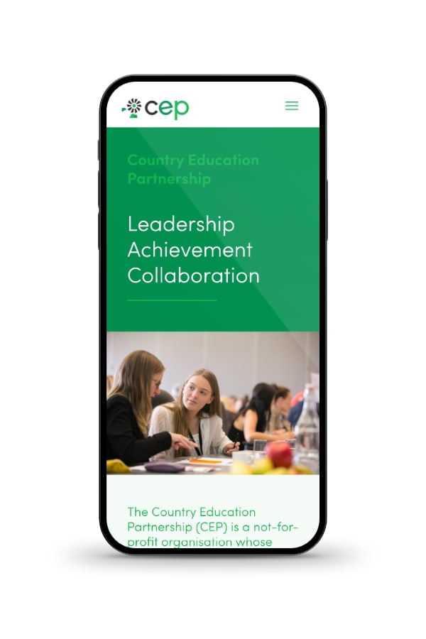 Country Education Partnership responsive website